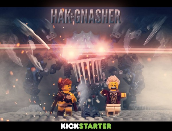 Hak and Gnasher Poster