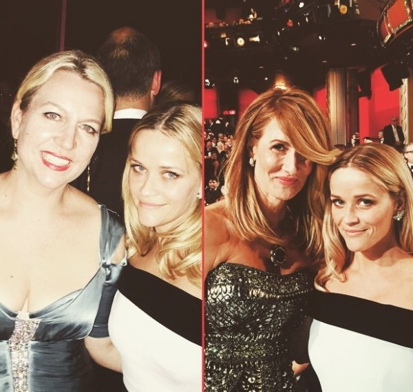 Photo appeared on Reese Witherspoon's Facebook page