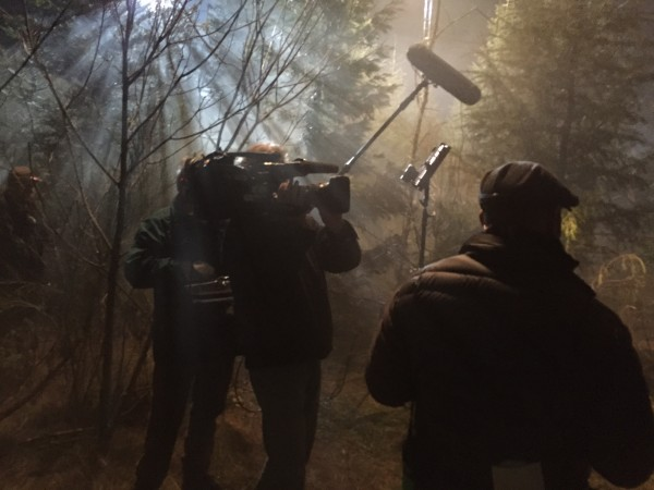 "Behind the scenes shooting of ""Grimm""  (NBC Universal)"