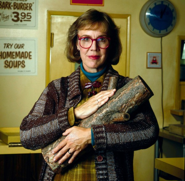"""Catherine Coulson played the Log Lady on the television series """"Twin Peaks."""" Credit ABC Photo Archives, via Getty Images"""