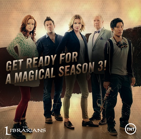 """""""The Librarians"""" TNT"""
