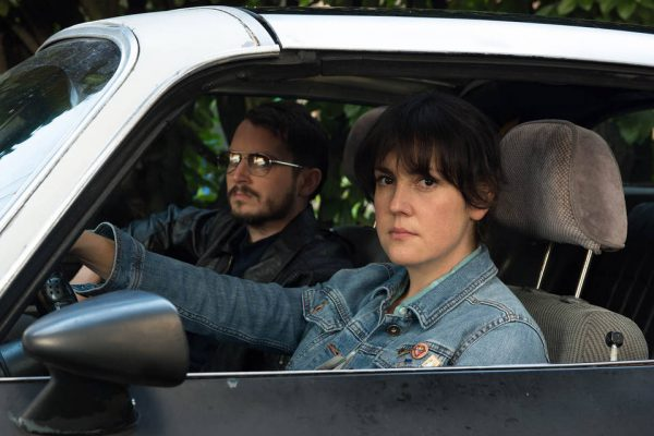 Melanie Lynskey and Elijah Wood appear in 'I Don't Feel at Home in This World Anymore' by Macon Blair, an official selection of the U.S. Dramatic Competition at the 2017 Sundance Film Festival. Photo: Allyson Riggs / Sundance