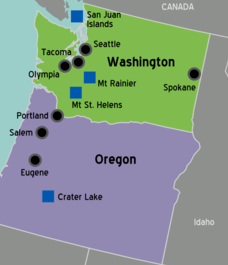 Luxury Restroom Trailers offers service throughout Oregon & Washington