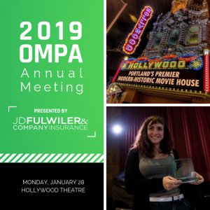 OMPA Annual Meeting January 28 Hollywood Theatre