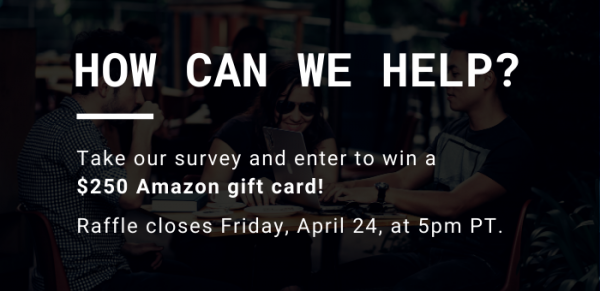 OMPA Community Survey: Win a $250 Amazon gift card!