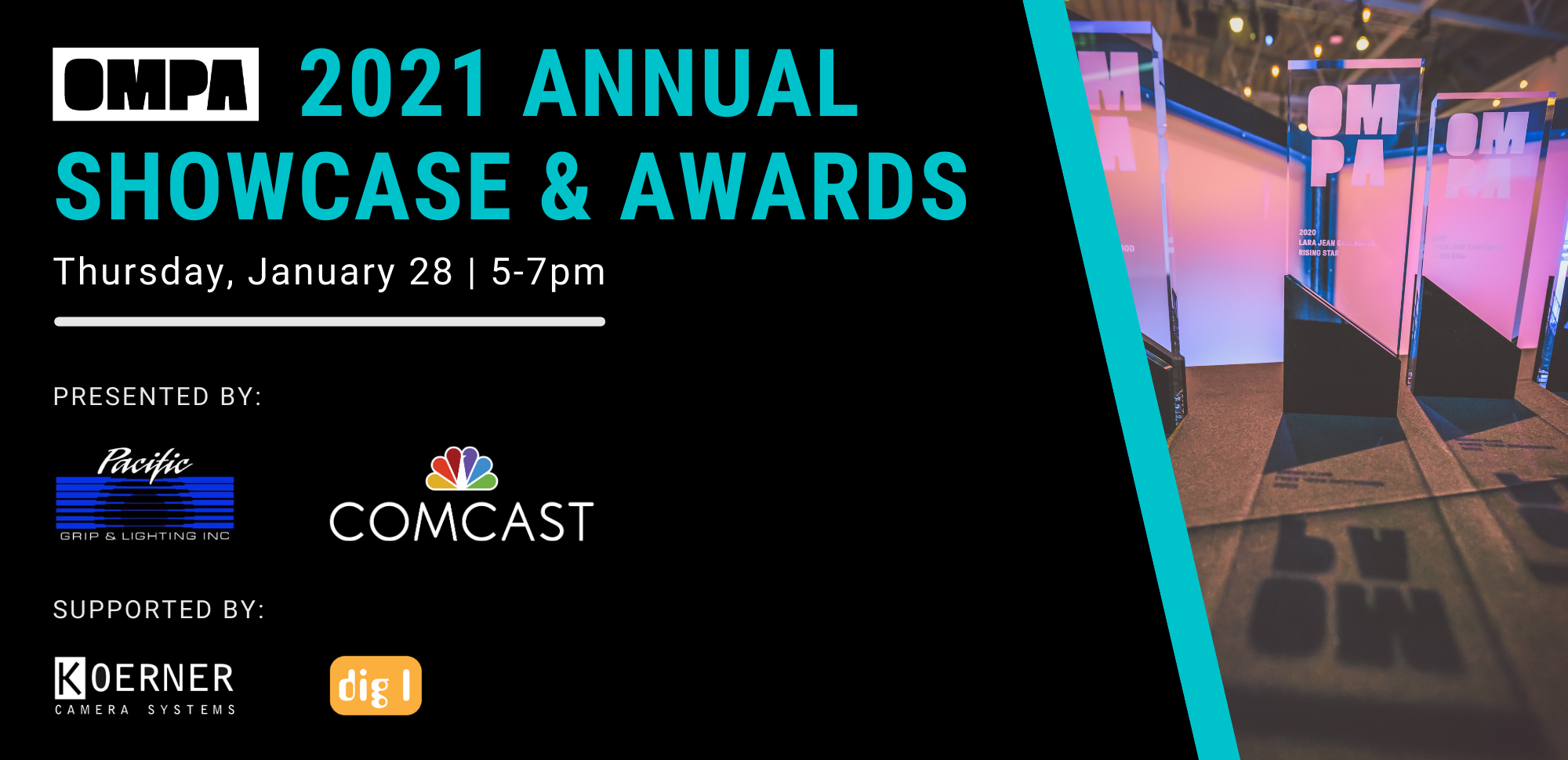 2021 OMPA Annual Showcase & Awards. January 28.