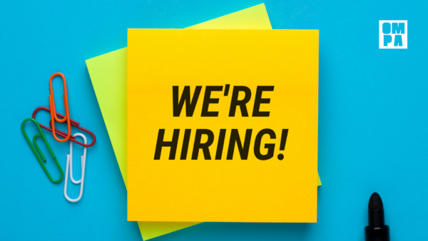 OMPA is immediately hiring for a membership coordinator!