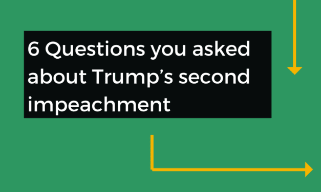 Q&A: 6 Questions You Asked About Trump's Second Impeachment
